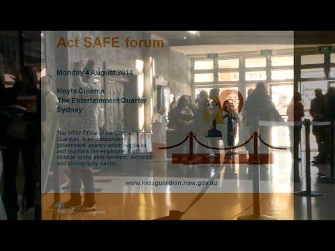 Act Safe forum - Highlights