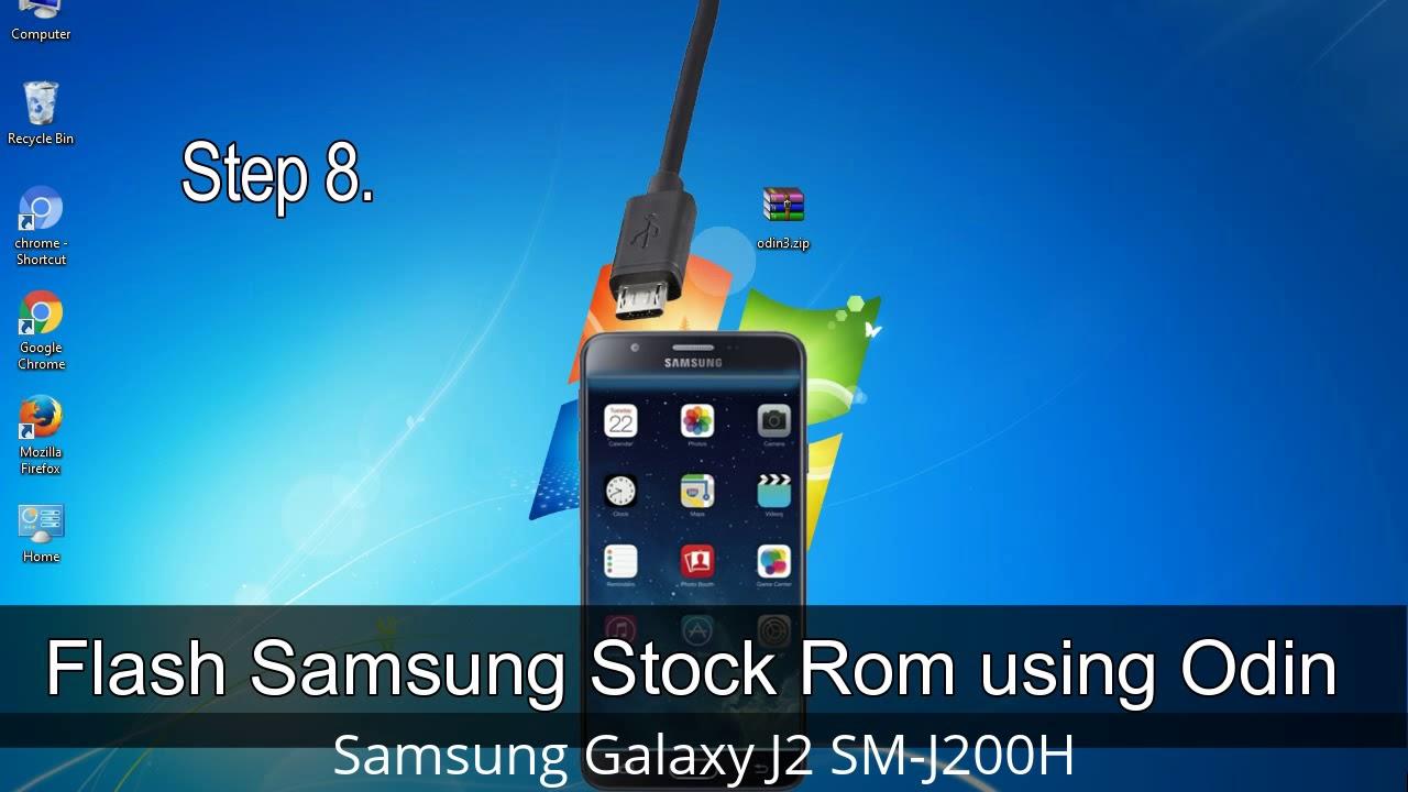How to Samsung Galaxy J2 SM-J200H Firmware Update (Fix ROM