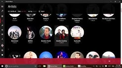 Windows 10 In Depth: Groove Music