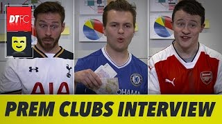 When Premier League clubs go on a job interview 😂