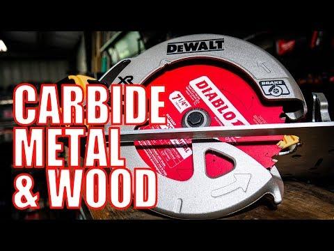 "Diablo Wood and Metal Carbide 7-1/4"" 36T Saw Blade"