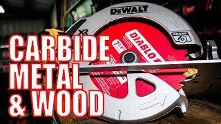Diablo Wood and Metal Carbide 7-1/4