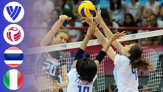 Thailand vs. Italy - Full Match | Women's Volleyball World Grand Prix 2016