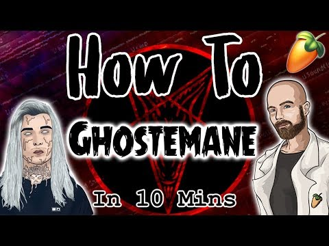 From Scratch: A Ghostemane Song in 10 minutes | FL Studio Hard Ambient Trap Tutorial 2018