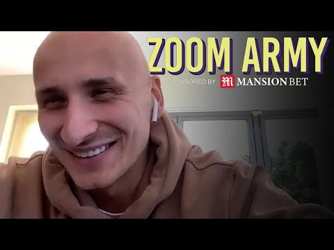 ZOOM ARMY 🧑💻 Jonjo Shelvey Answers Your Questions