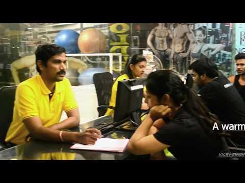 Gold's Gym - Vimannagar, Pune - Walkthrough [vicky singh productins]