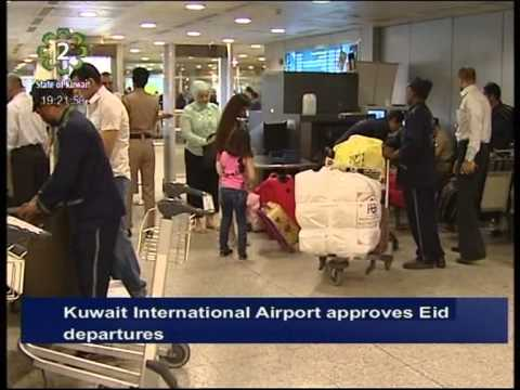 Kuwait International Airport approves flight departures during Eid Holiday