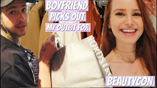 Boyfriend picks out my outfit for BeautyCon | Madelaine Petsch