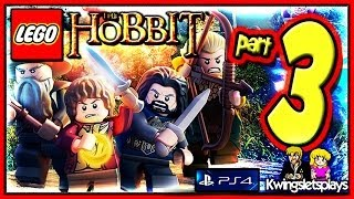 Lego the Hobbit - Walkthrough Part 3 Azog the Smelly co-op (PS4)