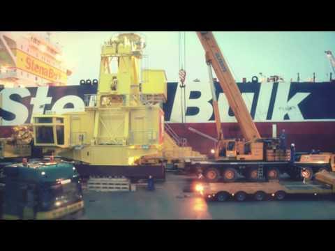 Rhenus Project Logistics - Heavy Lift to Tunisia