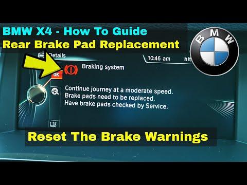 BMW X4 Brake Fault Warnings – F26 Xdrive – How To DIY FIX