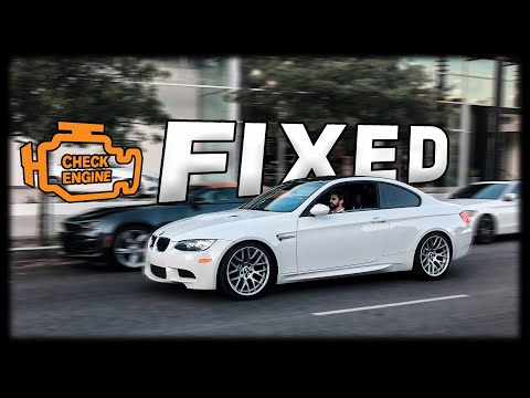 HERE'S HOW MUCH IT COST TO FIX THE BMW E92 M3 ENGINE PROBLEM!