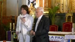 Camilo Sesto presenta junto al Padre Ángel el Padre Nuestro con la voz del Papa Francisco