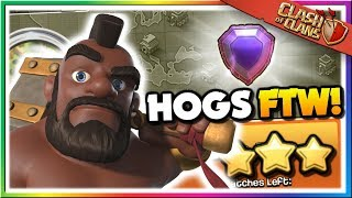 Hog Rider Highlights! Legend League Day 2 [Clash of Clans]