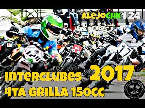 Interclubes 2017 -  2do Lugar - 4ta Grilla 150cc - AlejoChk - Akt NKD Vs Ns150 - Fz16 - Rtx 150
