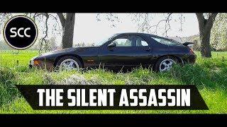 Porsche 928 GTS 1995 - Test drive in top gear - V8 engine sound | SCC TV