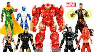 Marvel Legends Hulkbuster Series Infinite Avengers Series 3 Unboxing w/ Iron Man War Machine