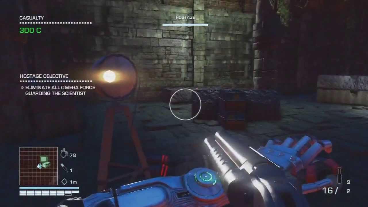 Quadruple Barrel Shotgun