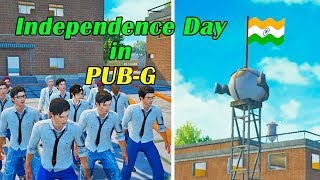 Independence Day in PUBG PUBG Mobile Flag Hoisting PUBG Short Film