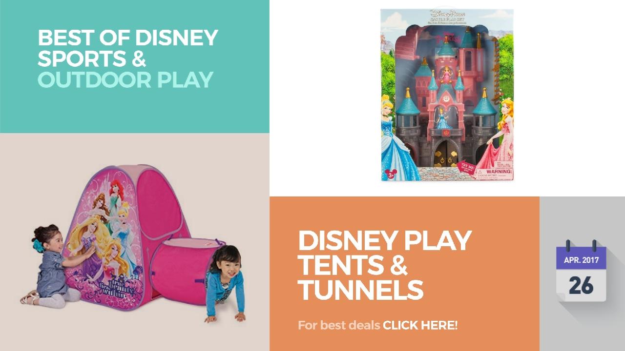 Disney Play Tents u0026 Tunnels Best Of Disney Sports u0026 Outdoor Play  sc 1 st  YouTube & Disney Play Tents u0026 Tunnels Best Of Disney Sports u0026 Outdoor Play ...