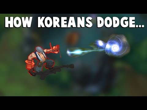 Here's How Koreans Dodge Lee Sin Q... | Funny LoL Series #66