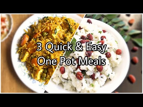 10 Minute Meals Recipes | One Pot Meals Vegetarian | Easy Dinner Recipes Vegetarian Indian