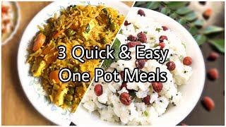 10 Minute Meals Recipes | One Pot Meals Vegetarian | Easy Dinner Recipes Vegetarian Indian
