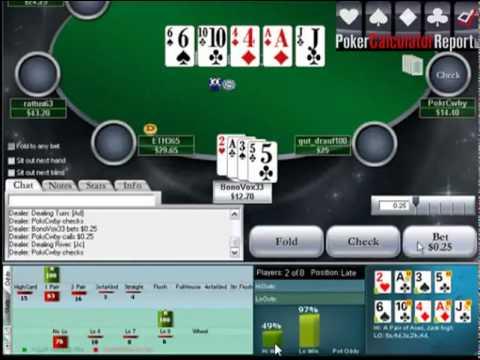 Omaha Indicator Poker Calculator
