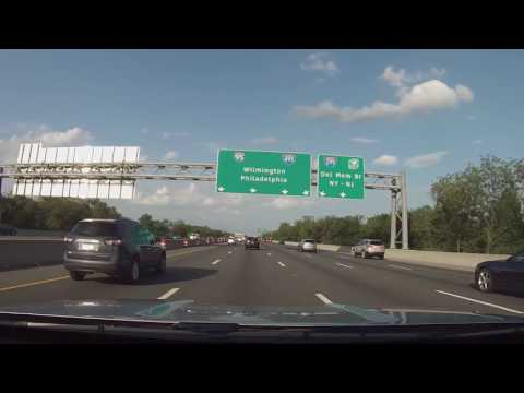 A drive from Middletown, DE to Philadelphia International Airport
