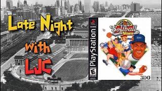Sammy Sosa Softball Slam - PS1- Late Night With LJC