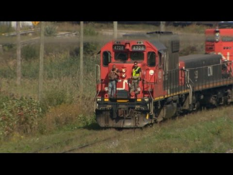 Freight train drivers report falling asleep on the job