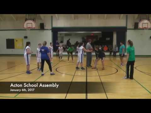 Acton School Assembly - 01-06-2017