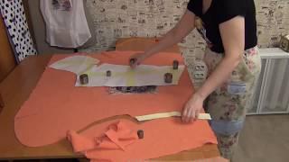 Как кроить трикотаж, если не хватает ткани