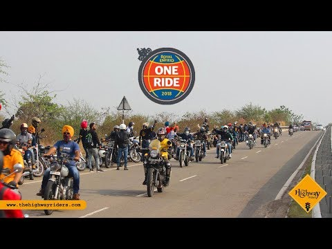 One Ride 2018 | Royal Enfield | Royal City Bikers | The Highway Riders | Enfield  Battalion