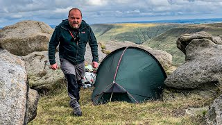 COMPLETE Wild Camping tŗip from planning to pitching the tent