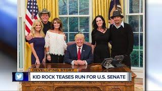 Kid Rock teases run for U.S. Senate