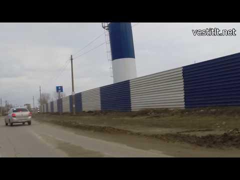 300-метровая маршрутная полоса  в поселке Приморский (Самарская область)