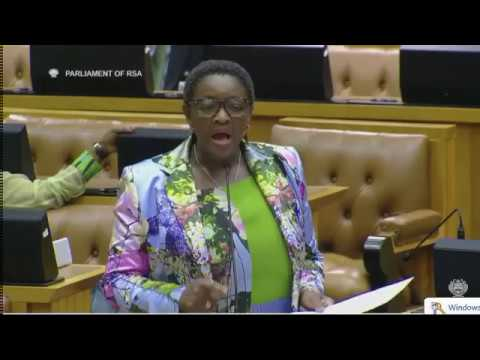 Must Watch: Bathabile Dlamini vs Mbuyiseni Ndlozi vs Chairpeson
