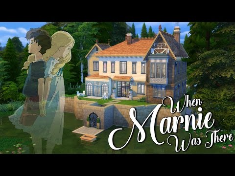 The Marsh House | When Marnie Was There | Sims 4 Ghibli Inspired Speed Build
