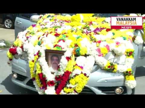 Singer Raja Raja Cholan's final journey