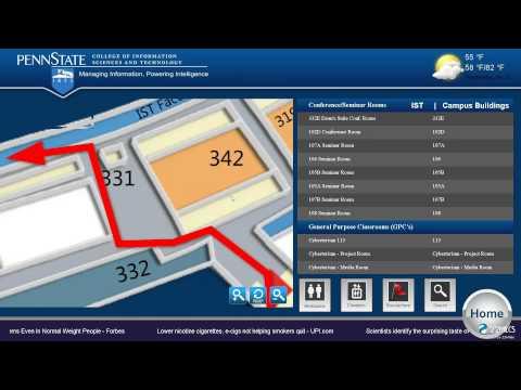 Publisher Pro- Waytouch Premier™ Feature Set Module (3D Wayfinding Digital Signage)