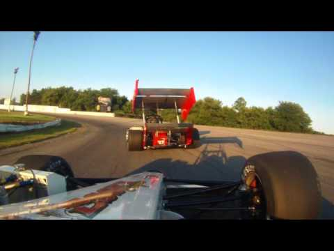TIMMYJ heat race 40th Annual Hymiler Supermodified Nationals