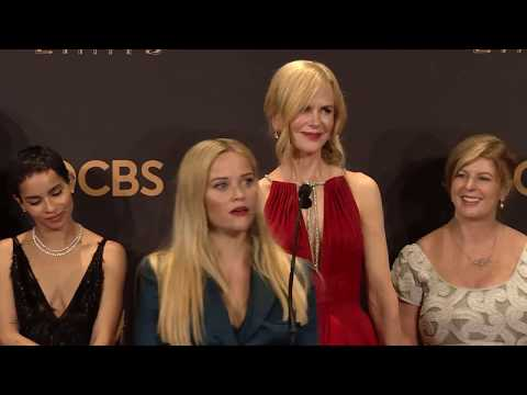 Emmy Awards: Big Little Lies Cast Backstage Interview 2017