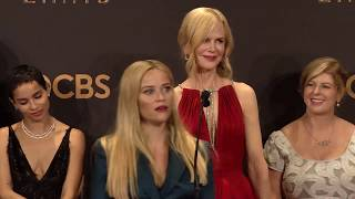 Emmy Awards: Big Little Lies Cast Backstage Interview 2017