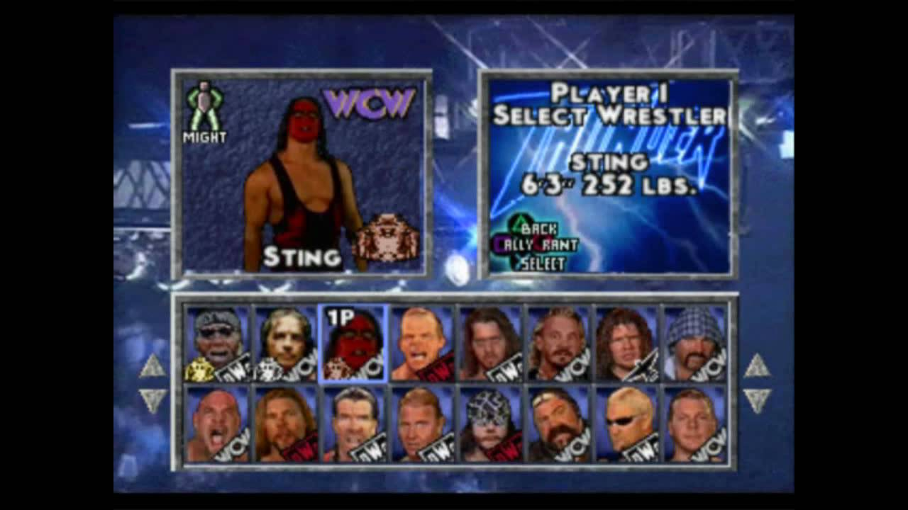 Image result for wcw nitro ps1