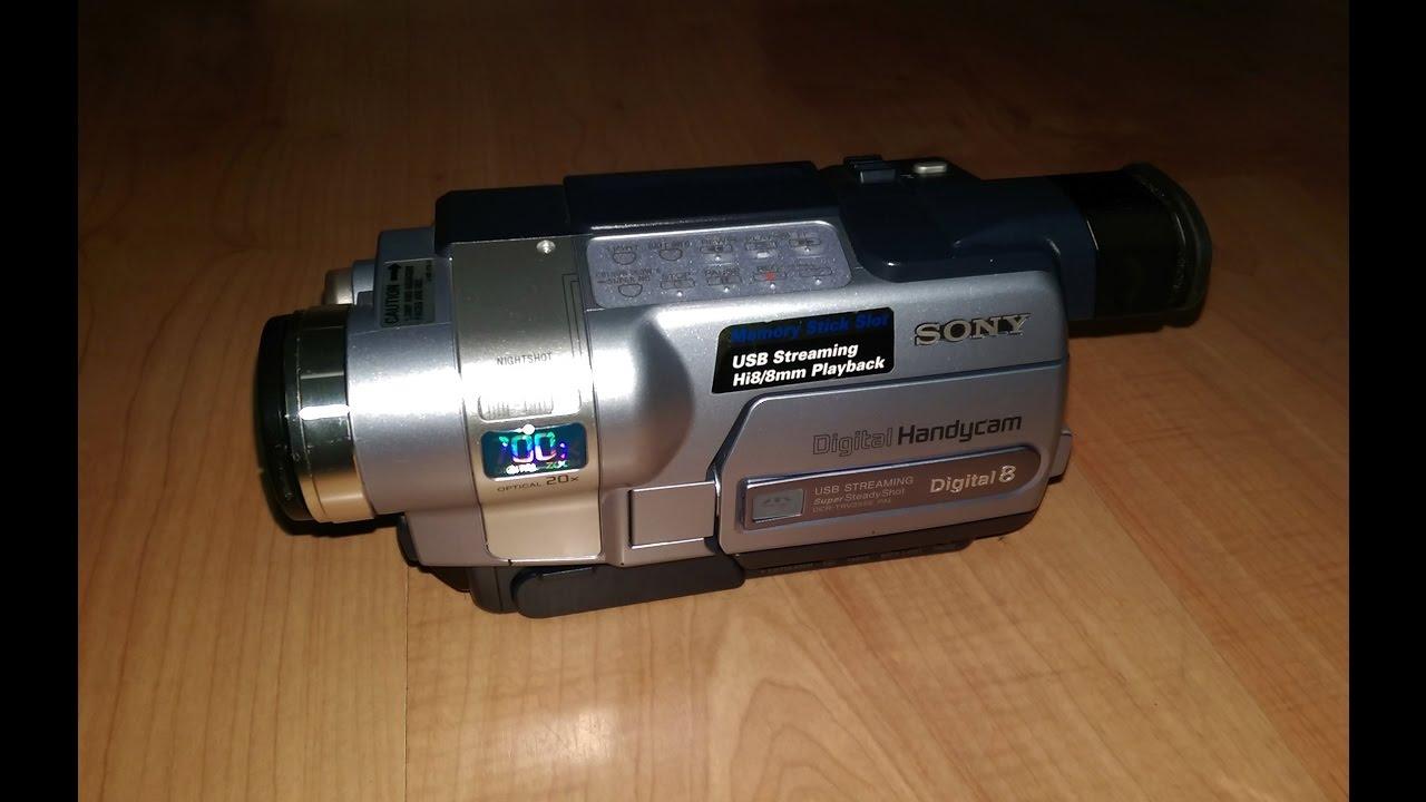 DCR-TRV355E Digital 8 Handycam