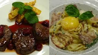 Ужин в итальянском ресторане Papa Roma