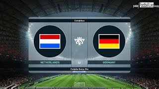 PES 2019 | NETHERLANDS vs GERMANY | Full Match & Amazing Goals | Gameplay PC
