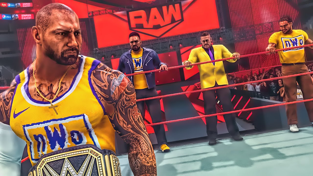 The nWo Los Angeles WWE Takeover (WWE Games Story)