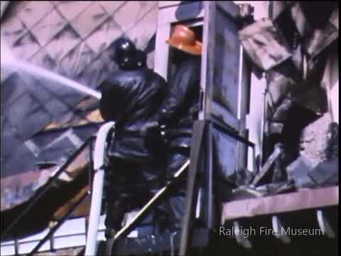 Raleigh Fire Department Circa 1950